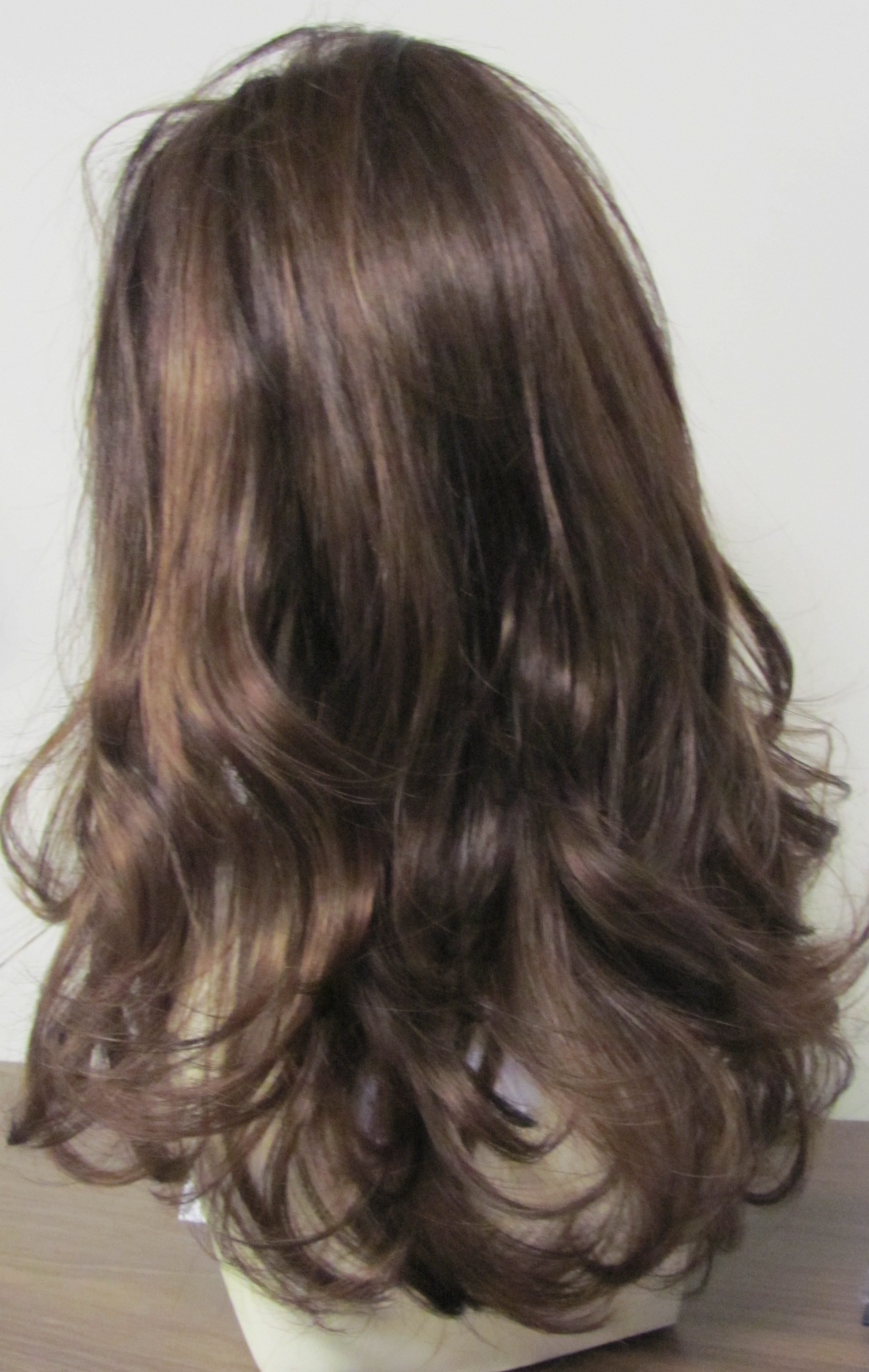 Mono Right Side Part Wig 60