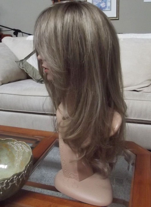 blake wig from side