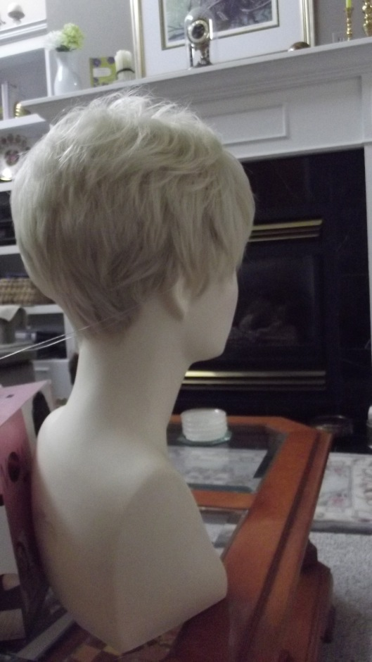 back view of Short and Sassy by Daisy Fuentes LUXHAIR