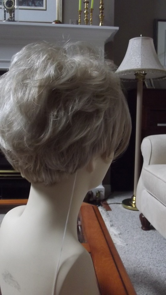 Shari Wig by Envy in light blonde from the side